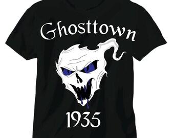 """Coming Soon Ghosttown 1935  """"glow in the dark"""" blue eyes"""