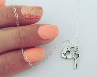 unlock my heart necklace