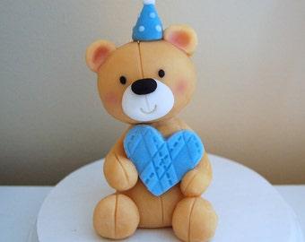 Fondant Bear Cake Topper
