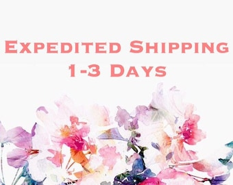 1-3 Day Expedited Shipping