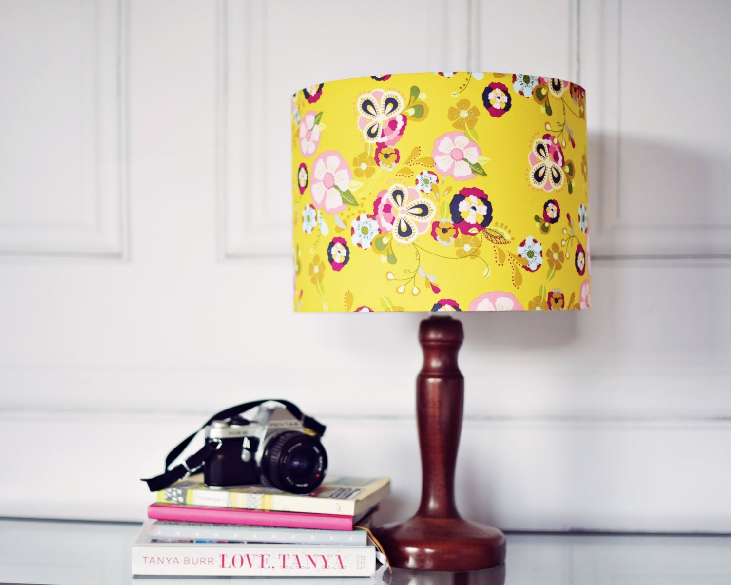 Yellow Lamp Shade Yellow Bedroom D 233 Cor Light Shades Floral