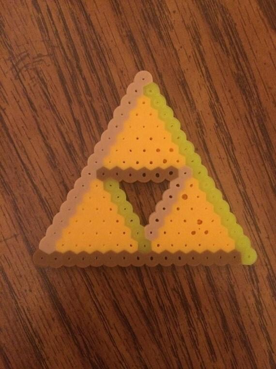 Legend of Zelda Triforce Bead Design