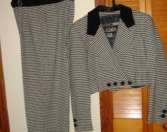 Elegant Vintage blazer and pants by Escada Germany size 36 Medium excellent condition