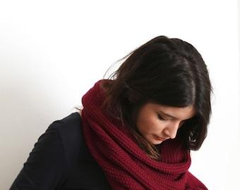 Merino Wool & natural dye scarf/shawl