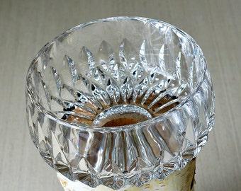 Vintage,Gorham Full Lead Crystal Dish,Crystal Candy Dish, Vintage Gorham,Glass Candy dish