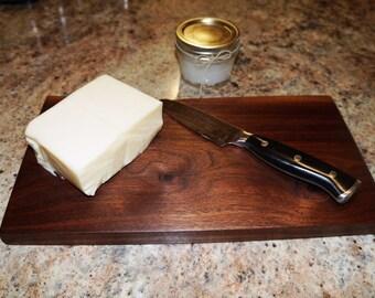 Engravable Cheese Board, Cheese Board, Walnut Cheese Board, Rustic Cheese Board, Cutting Board, Engraved Cutting Board, Walnut Cutting Board