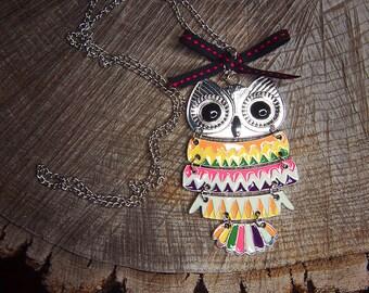 Owl Necklace ~1 pieces #100389
