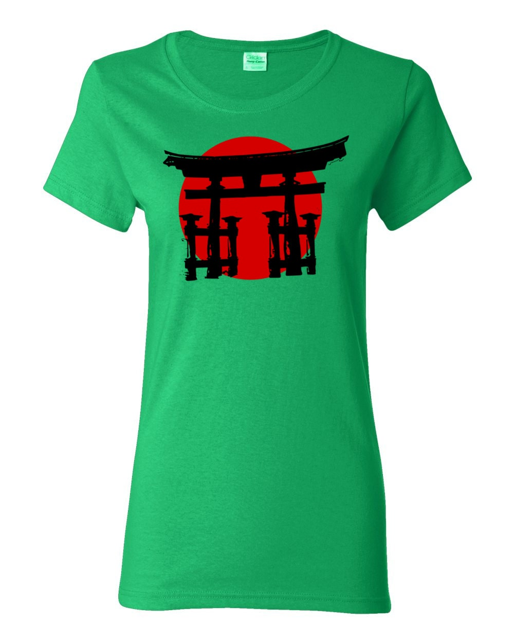 Japanese Shinto Shrine Womens T-shirt