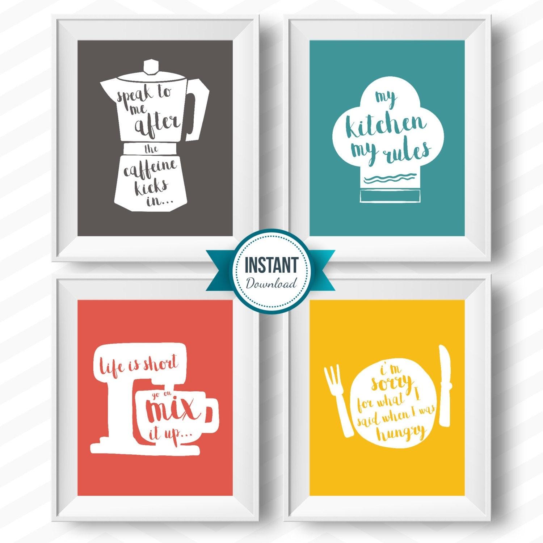 Kitchen Printables Kitchen Rules Kitchen Rules Printable