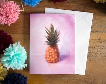 Pineapple | fruit illustration | foodies | fruit | lovers | greeting card | card | birthday card | food illustration | culinary art |