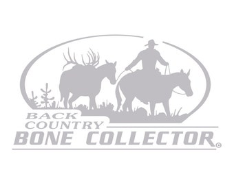 Back Country Bone Collector Decal HI-35
