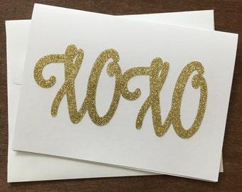 XOXO Card or a Great Anniversary Card, Send Love Card