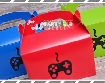Video Gamer Party-Video Game Party Cups-Video Game Favor Boxes