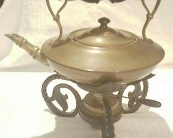 Rare vintage Samovar Brass Teapot