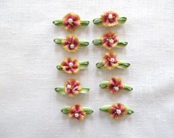 Peach Ombre Flowers 2119D