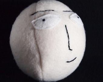One Punch Man-Inspired Saitama Egg Plush