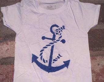 Toddler Boy Anchor T-Shirt