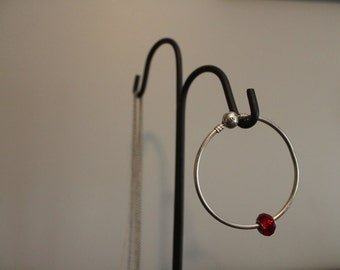 Red Pandora Charm