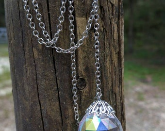 Crystal Orb Necklace