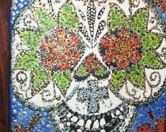 hand painted muerto # 7