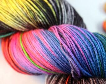 Superwash merino 150g sock/4ply; Auto-Tune, hand dyed yarn