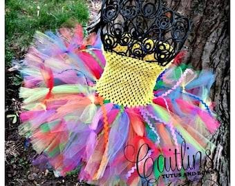 MEMORIAL DAY SALE Clown tutu, circus tutu, clown costume, circus clown tutu, tutu costume, Halloween tutu, Circus tutu costume, clown tutu c