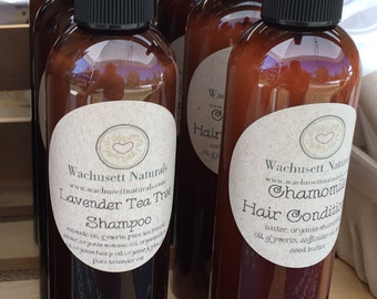 Natural Lavender Tea Tree Shampoo