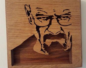 Breaking Bad Walter White Wall Plaque.