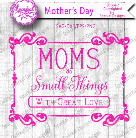 Mother\'s Day Cutting files Quotes in SVG-DXF-EPS-Png