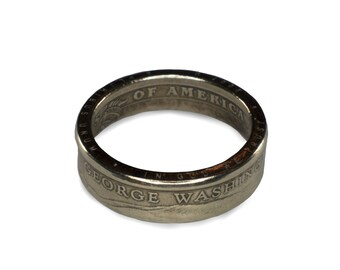 US Presidential Dollar Coin Ring