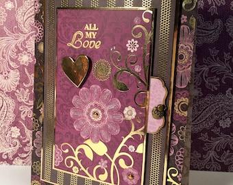 Handmade Valentine's Card/All My Love