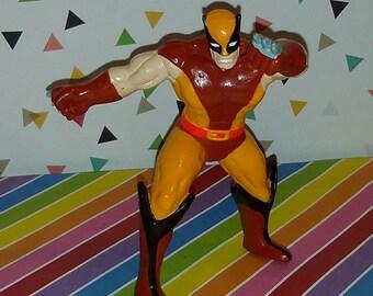 Vintage 1990s Applause PVC Standing Wolverine Figure