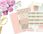 Earthly Vertical ECLP Weekly Kit -- Matte Planner Stickers