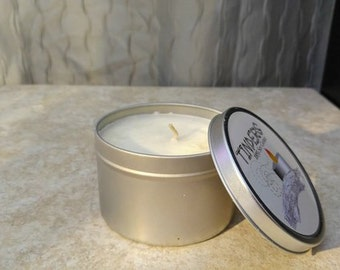 Midnight Moonlight Tinders Soy Wax Candle