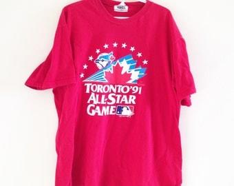Vintage Toronto Blue Jays All Star Game T Shirt