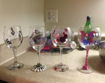 Themed glasses
