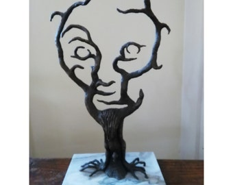 Sculpture  Abstract Tree