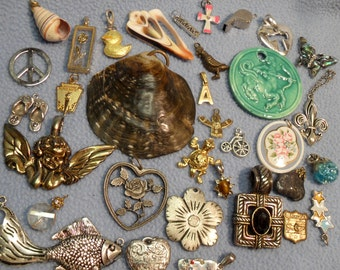 Eclectic Beautiful Pendant Lot