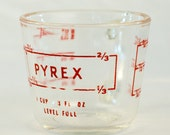 Pyrex One Cup/8 oz Measuring Cup, Made in USA