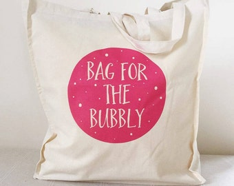 Bubbly Tote Bag