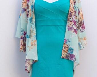 SALE!!! Baby Blue Floral Kimono