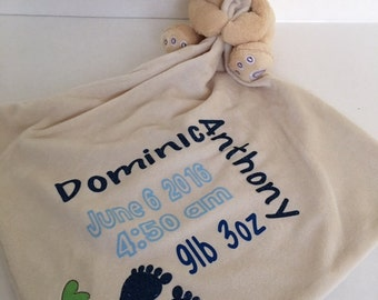 Birth Announcement, Bear, Boy, Girl, Great Gift
