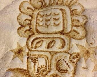 Custom Mayan Glyph Logogram - by Yarrish Arts
