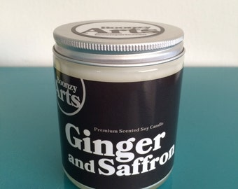 Ginger and Saffron Candle