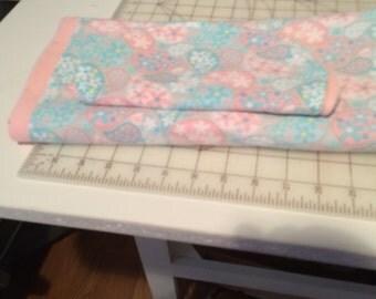 2 piece set Baby Blanket and Burp cloth