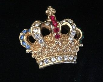Queen's Crown Brooch