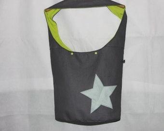 eatherette  star shoulder bag XXL bag