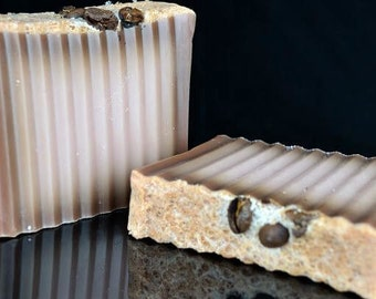 Coffee Soap, Cappucino a Soap Coffee Beans, Homemade Soap, Handmade Soap