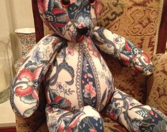 Handmade teddy bear, Flora