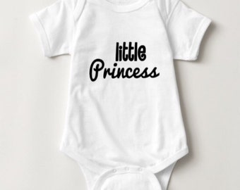 Little Princess Baby Girl Onesie Bodysuit baby shower gift